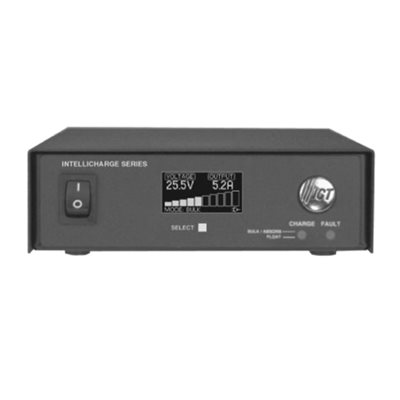 IntelliCharge Battery Charger 12VDC 15A Meter